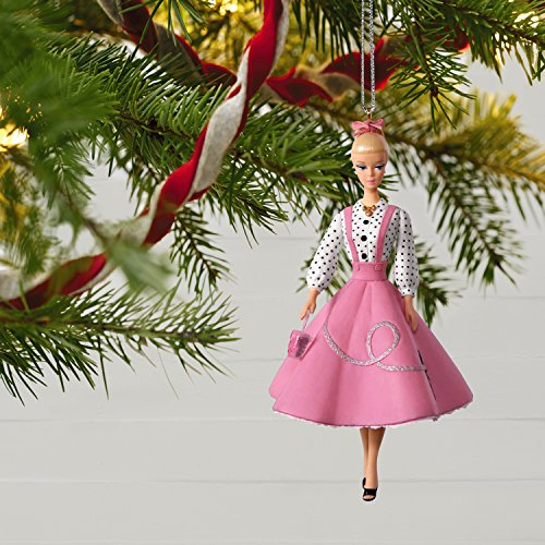 Hallmark Keepsake Christmas Ornament 2018 Year Dated, Barbie Soda Shop