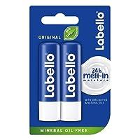 Labello Classic Care Lip Balm 0.18 oz / 4.8g (Pack of 2)