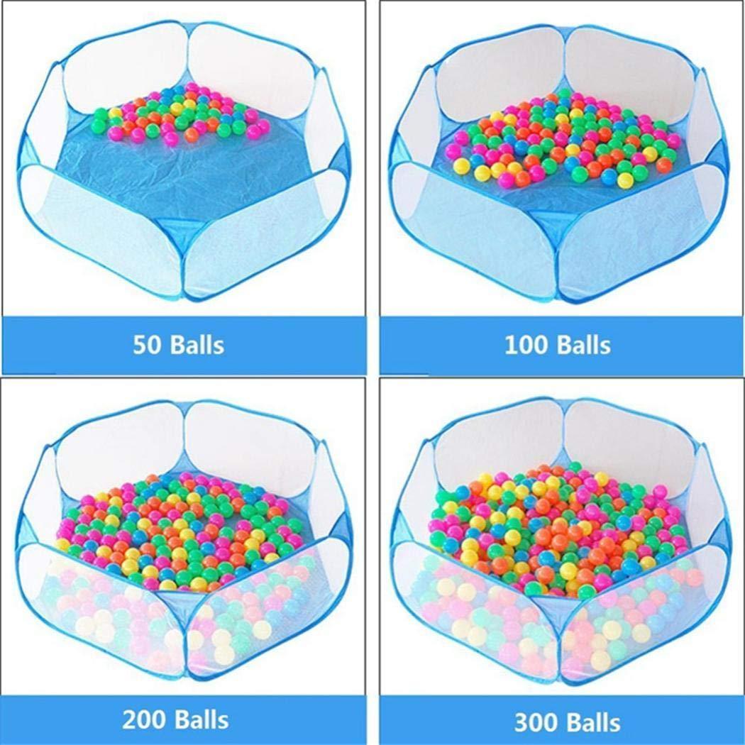 YAGAIU Nouvelle Piscine de Balle de Gaze Pliable Joue b/éb/é Infantile Puzzle /éducatif Jouets Barri/ères de lit
