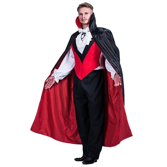 EraSpooky Disfraz de Hombre Halloween Gothic Vampire Count ...