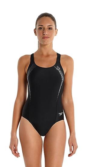 775c15c64980e Speedo Sports Logo Medalist Maillot de bain Femme  MainApps  Amazon.fr   Sports et Loisirs