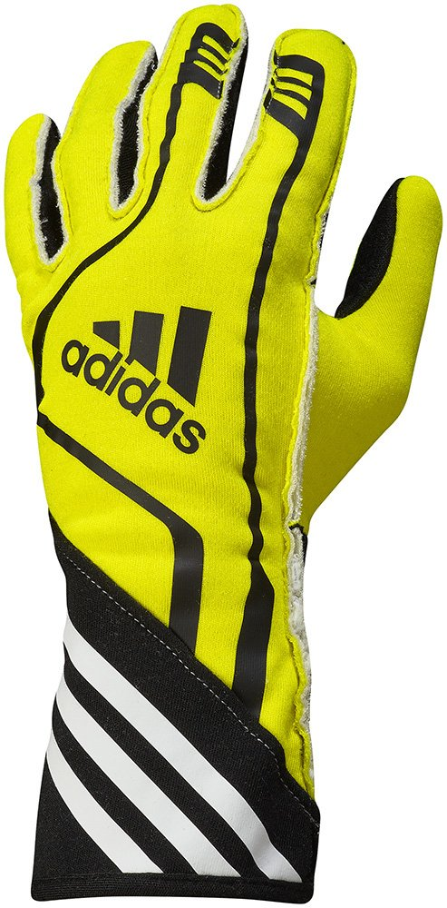 adidas RSR Gloves (L, FLUO YELLOW)
