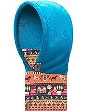 TRIWONDER pasamontañas Sombrero para niños máscara térmica Polar Cuello Calentador máscara de esquí de Invierno Tapa