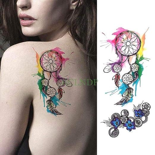 tzxdbh 3 Unids-Etiqueta Engomada del Tatuaje Temporal A Prueba de ...