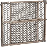 Baby : Safety 1st Vintage Grey Wood Gate, Grey