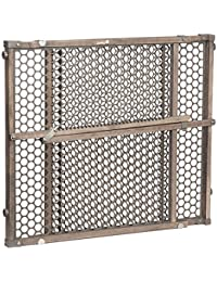 Safety 1st Vintage Grey Wood Gate, Grey BOBEBE Online Baby Store From New York to Miami and Los Angeles