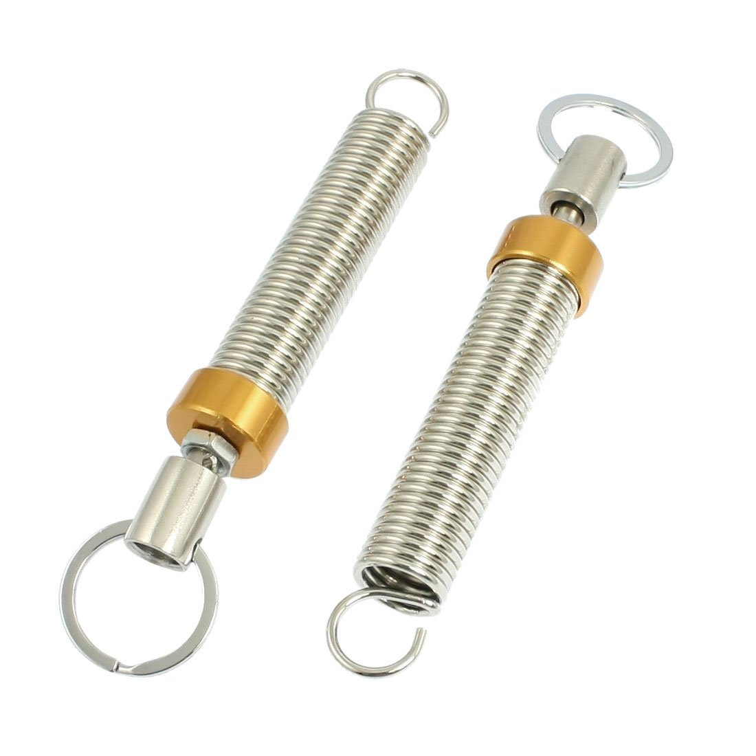 Trunk Lid Lifting Spring Device - SODIAL(R) 2 x Adjustable Automatic Trunk Lid Lifting Spring Device Gold Tone for Car Auto LEPACA2855