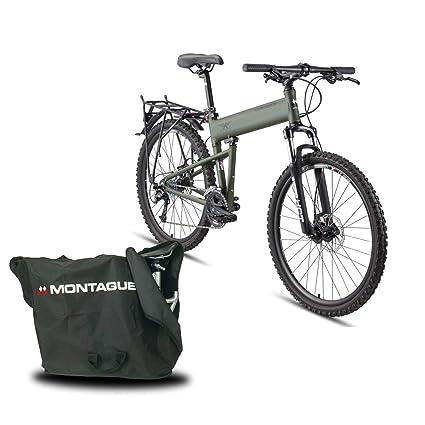 e4a16d250a1 Montague Paratrooper 24 Speed Folding Mountain Bike, Mountain Bikes for Men  26 inch, Folding