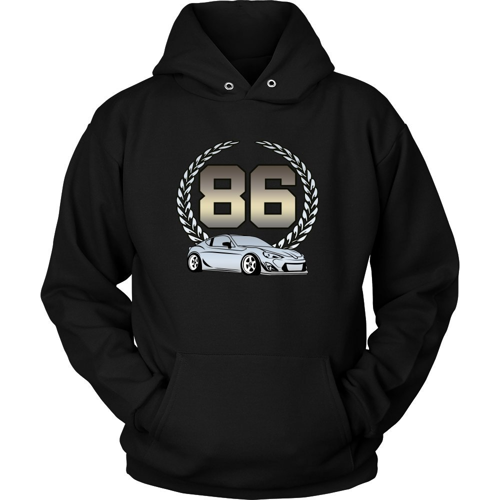 Toyota GT86 Scion FR-S JDM Tuner Car Stance Hoodie Sweatshirt by Daily Drivers Inc. (Image #1)