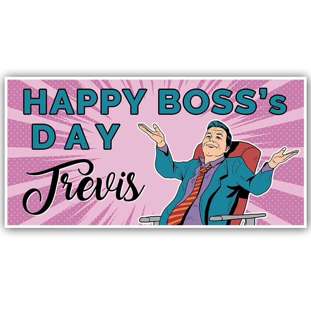 Happy Bosss Day Personalized Banner