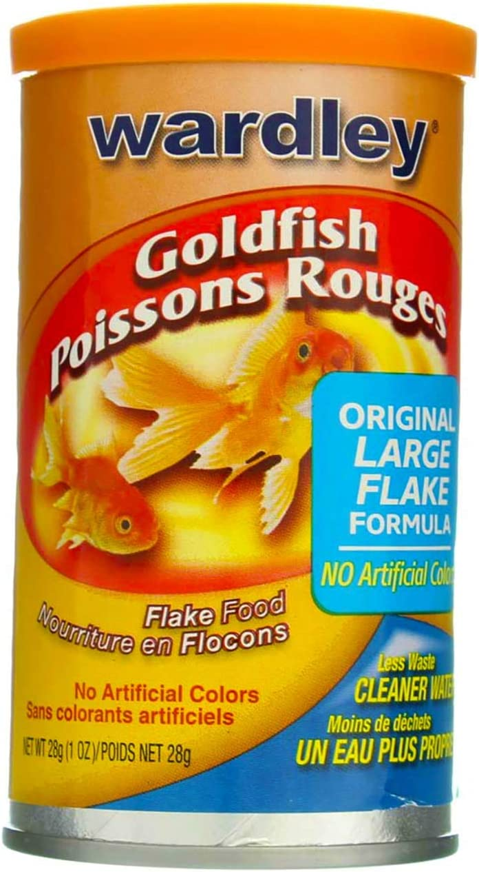 Hartz 01525 1 Oz Wardley Goldfish Flakes