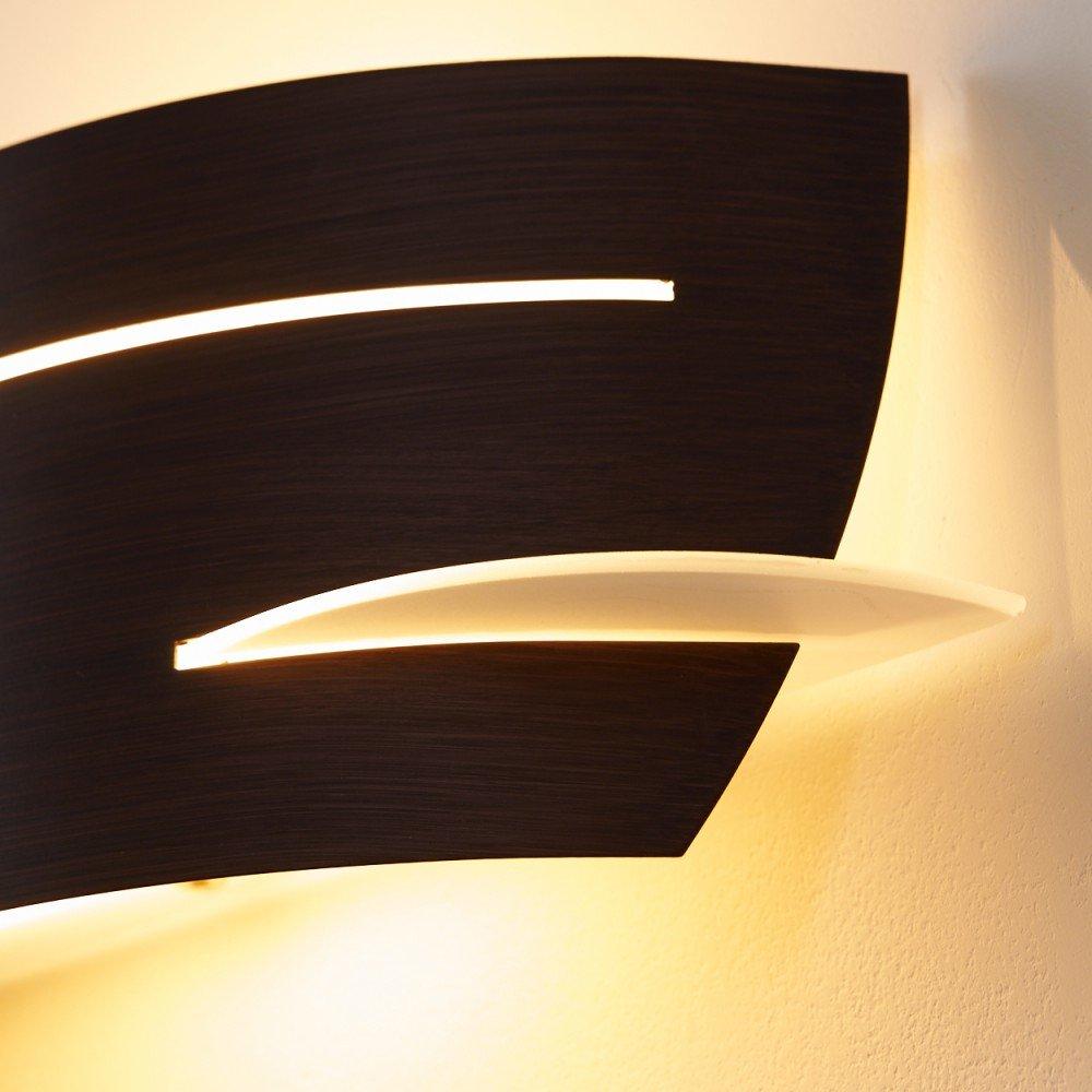 Wall Light Design Novara Golden in Beautiful Wave