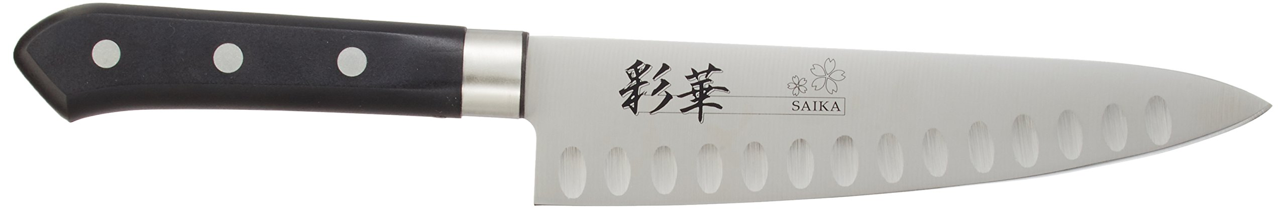 Fuji cutlery Ayaka dimpled knife Gyuto knife 180mm FC-802