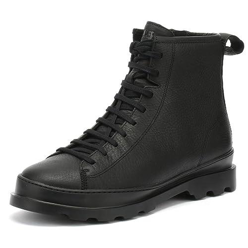 37e275a54da49 Camper Brutus Hombres Negro Hi Botas  Amazon.es  Zapatos y complementos