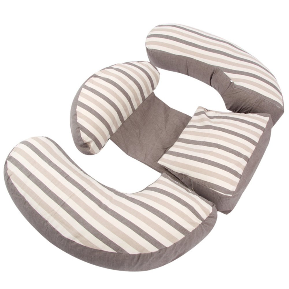 pregnancy pillow/waist, side sleeping pillow/u pillow/multifunctional pregnant woman pillow/cushion/lateral pillow/belly pillow-F