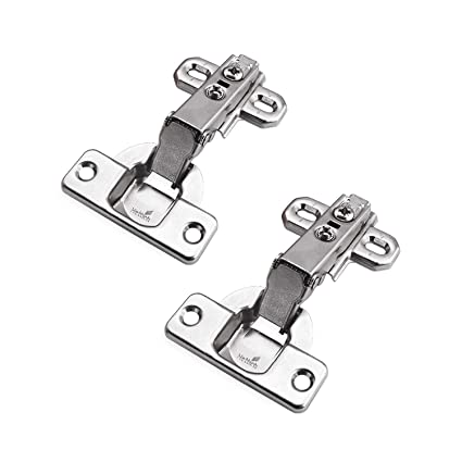 Hettich 95 Degree Standard Hinges With Slide On Assembly Kitchen Cabinet Cupboard Wardrobe Door Hinge Germany Brand 2333 Full Overlay Pack Of 2