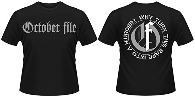 Why? Official Mens T Shirt October File