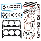 Cylinder Head Gasket Bolts Kit HS9354PT-6 for 1996-2003 Chevrolet Astro 4.3L V6,for 1999-2003 GMC Sierra 1500 4.3L V6,for 1996-2003 GMC Safari 4.3L V6,for 1996-2003 Chevrolet S10 4.3L V6 Vin Code W X