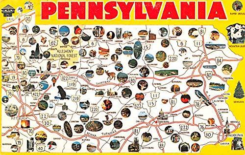 Pennsylvania, USA Postcard 1975 (The 1975 Postcard)