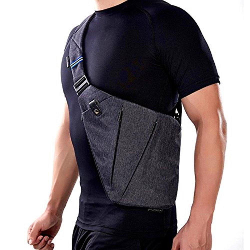 WANFULDA Anti Theft Crossbody Bag Waterproof Nylon Single Shoulder bags by WANFULDA