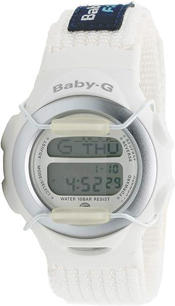 Casio Bg-097-41 Reloj Digital Unisex Colección Baby-g Caja De Resina Esfera Color Gris: Amazon.es: Relojes