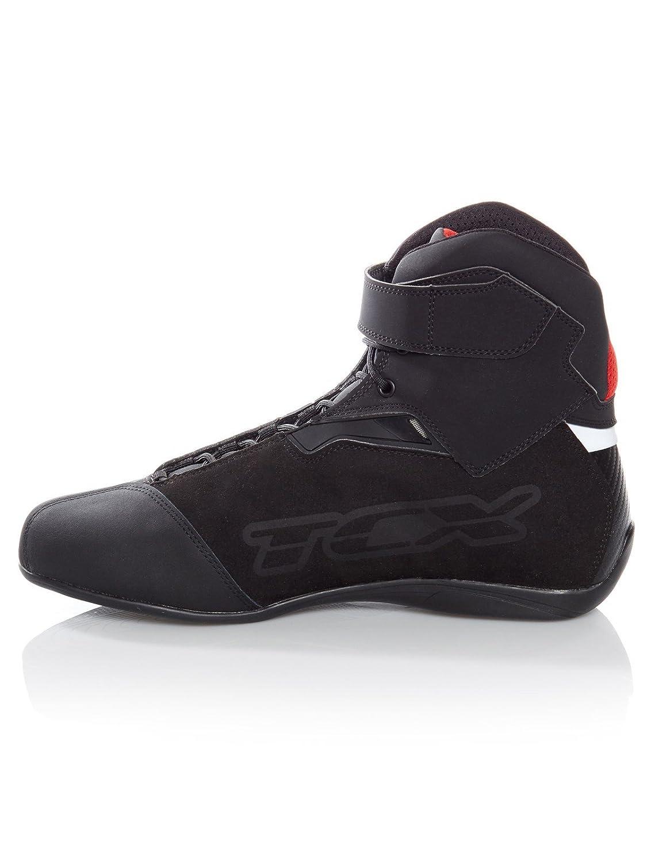 Black 43 TCX Motorcycle Boots Rush WP Black