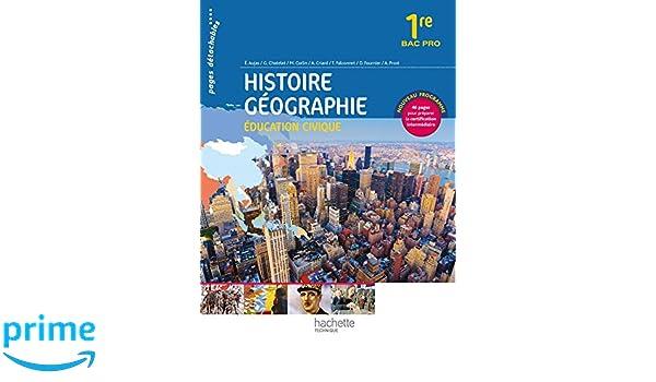 Histoire Géographie 1re Bac Pro - Livre élève consommable - Ed. 2014 Histoire-Géographie Bac Professionnel, consommables: Amazon.es: Alain Prost, ...