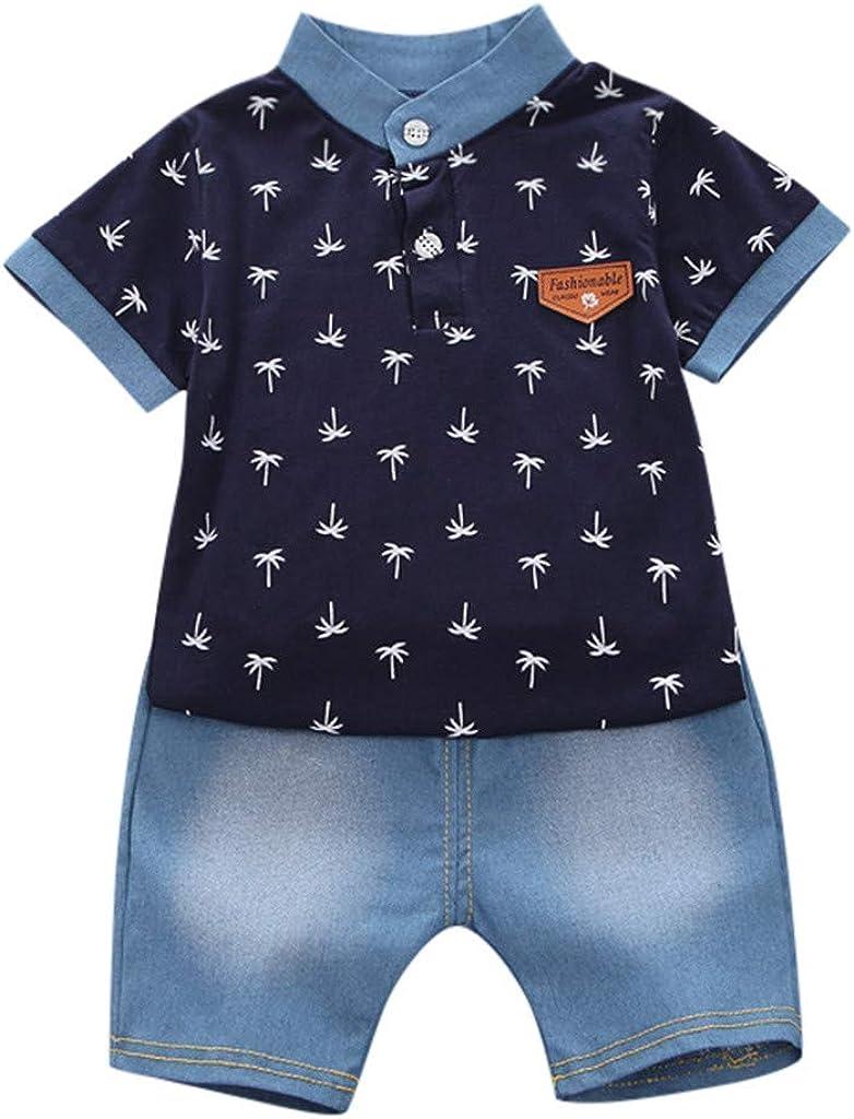Moneycom - Conjunto de ropa para bebé y niño, manga corta ...