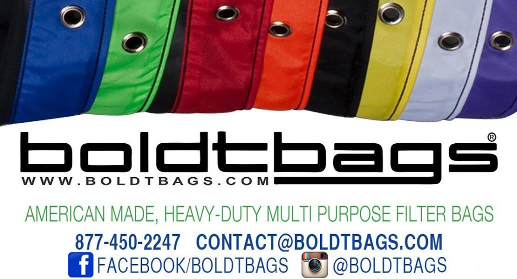 BOLDTBAGS - The Original Bubble Extraction Bags from Humboldt - 1 Gallon 3 Bag Set (220 / 73 / 25 Microns)