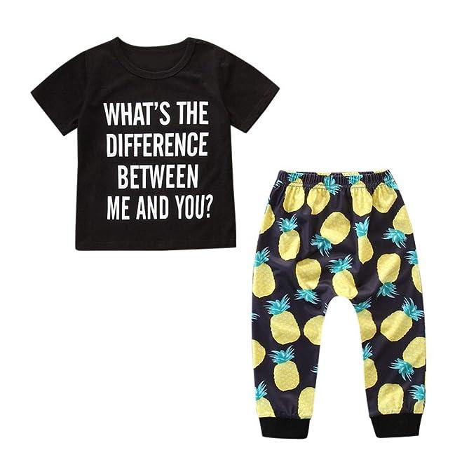 Kind T-Shirt Hosen Mädchen Gestreift Langarm Kinder Baby Set Mode Freizeit