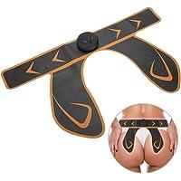 Masajeador Gluteos, Entrenador Cadera, Naranja y Rosa,para Adelgazar de Cadera/Pierna / Cintura/Cuerpo, pon la Batería(naranja) (Amarillo)