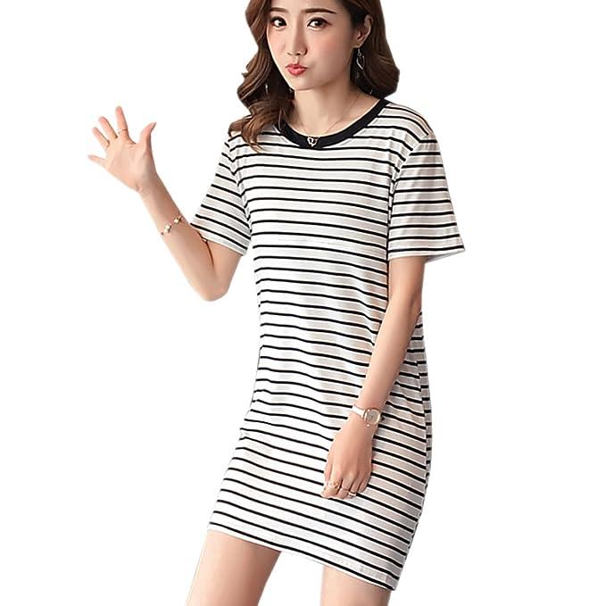XFentech Womens De Moda Elegante Maternity/Nursing Nightgown Vestido de Embarazo para el Vestido de