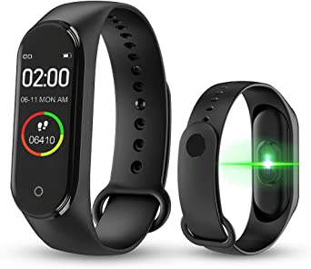 bqlove M4 Fitness Tracker, Reloj De Seguimiento De Actividad con ...