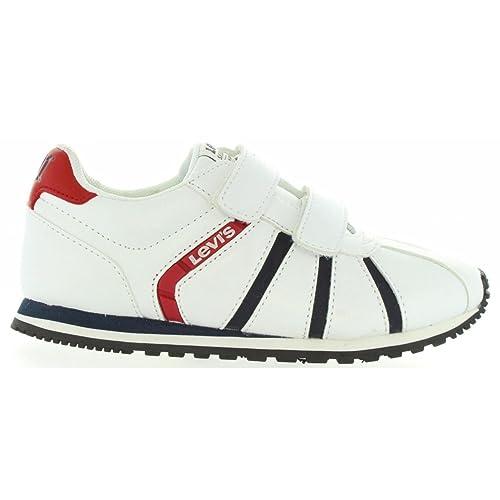 Zapatillas Deporte de Niño y Niña y Mujer Levis VALA0002S ALMAYER 0061 White: Amazon.es: Zapatos y complementos