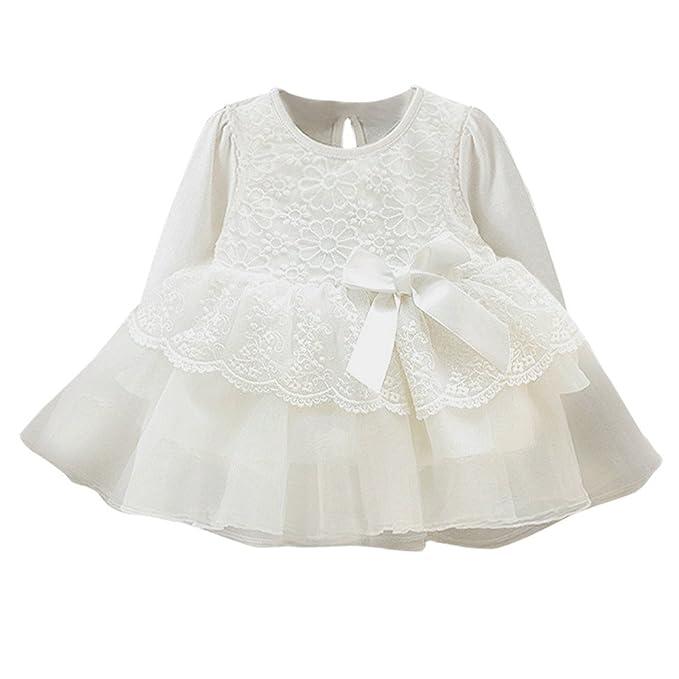 K-youth Vestido para Niñas, Vestido de Fiesta Niñas Tutú Princesa Boda Vestido con
