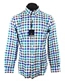 Massimo Dutti Men's Slim fit multicoloured check shirt 0140/129 (Large) offers
