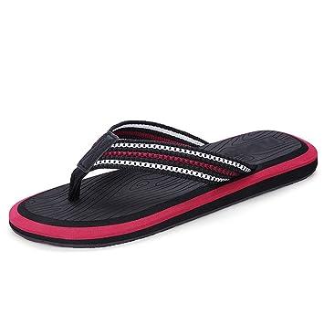 Herren-Hausschuhe Sommer-Trend Anti-Rutsch-personalisierte Strandurlaub ( Farbe : 1 , größe : US:11.5 UK:10.5 EUR:48 )