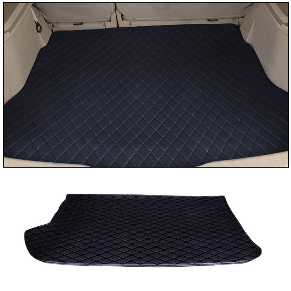 SHUNAN-EU Kofferraummatten Benutzerdefinierte Auto Fu/ßmatte F/ür 95/% der Modelle Bodenbelag Rutschfeste Ledermatte Allwetterschutzset Grau