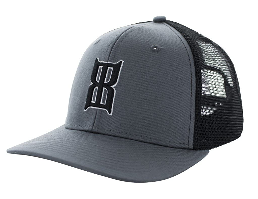 c43988fd963 BEX Men s Charcoal Badlands Baseball Cap Charcoal One Size at Amazon Men s  Clothing store