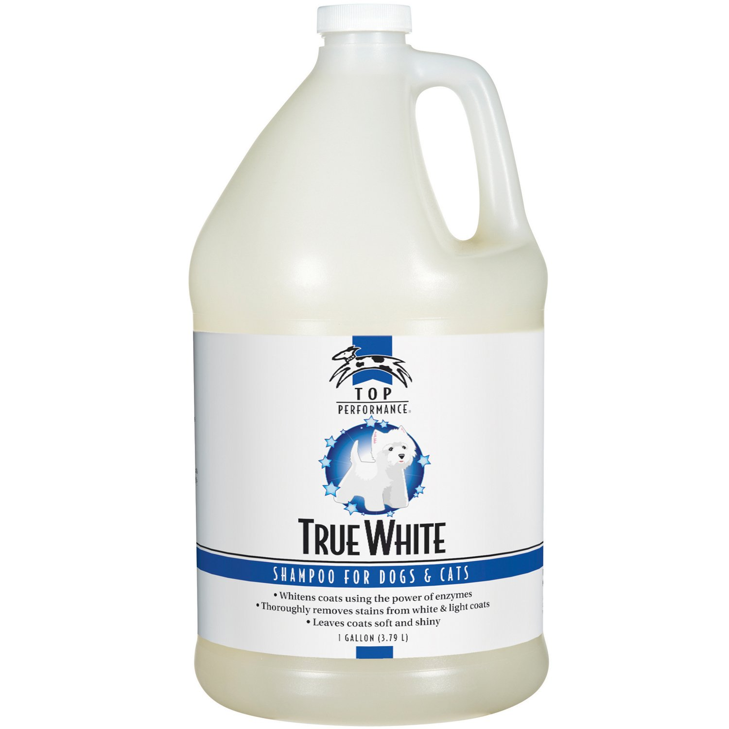 Top Performance TP606 91 True White Whitening Pet Shampoo Gallo by Top Performance