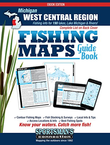 - West Central Michigan Fishing Map Guide