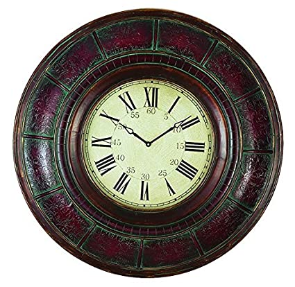 Buy Deco 79 Wood Wall Clock, 36-Inch Online at Low Prices in India ...