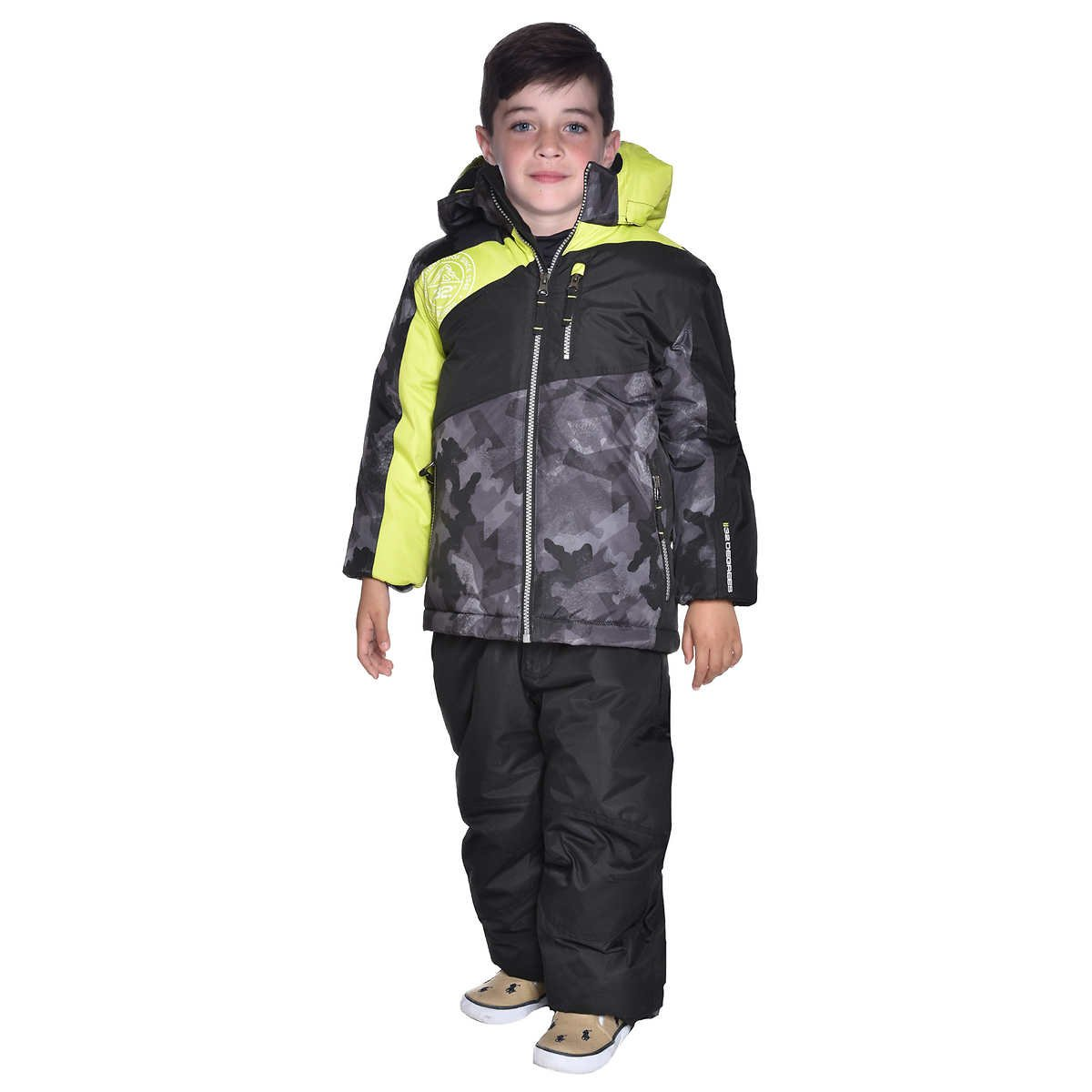 32 Degrees 2 Piece Snow Bib and Jacket Set for Boys