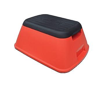 Cool Ennovea Life Anti Tip Safe T Stool Red Machost Co Dining Chair Design Ideas Machostcouk
