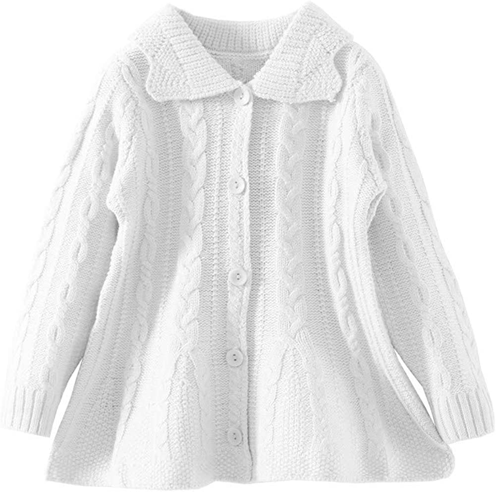 Mud Kingdom Girls Cardigan Sweaters Button Up