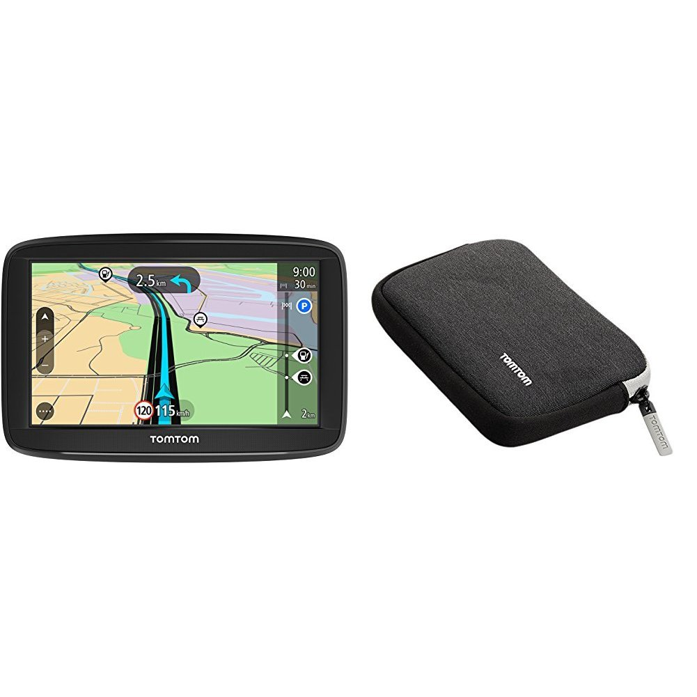 TomTom START 52 (5 Pouces) - GPS Auto - Cartographie Europe 48 à Vie 1AA5.002.04