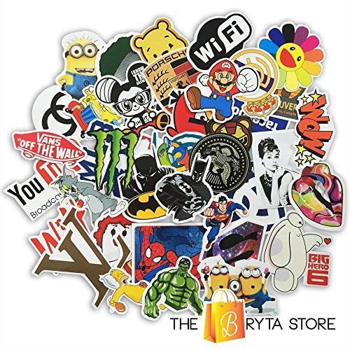 100 Premium Stickers Decals Vinyls Pack Of The Best