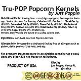 Tender Pop Hulless Popcorn Kernels - Just Poppin