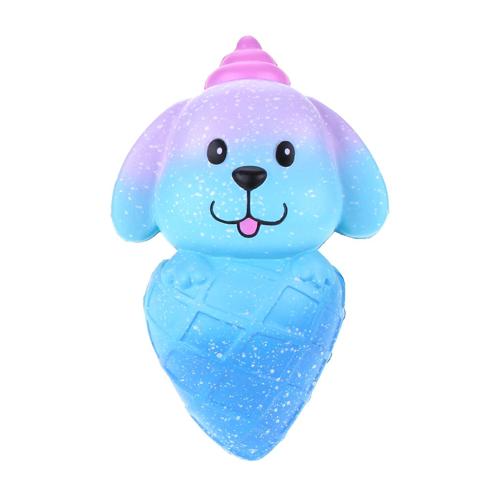 VLAMPO Squishy Slow Rising Toys Squishies Soft Squeeze Profumato Toys Puppy Ice Cream 5.9