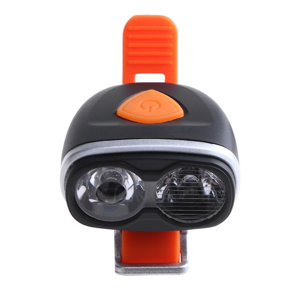 Seawang USB ricaricabile bicicletta luce frontale impermeabile ad alta/bassa del fascio testa della lampada